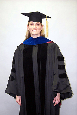 Faculty Doctor Cap, Gown Tassel Rental