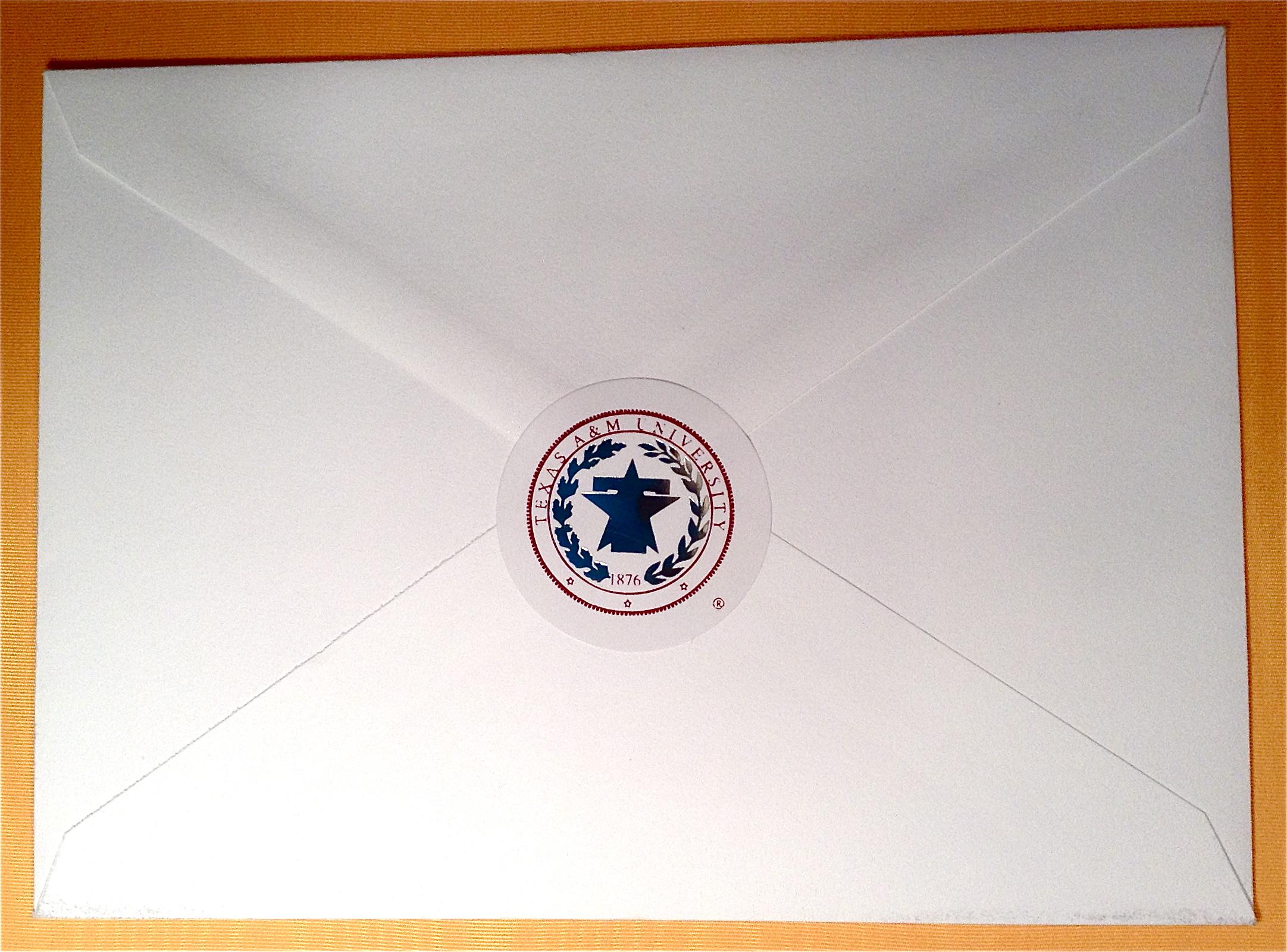 Graduation Announcement Package [Texas A&M Health Science Center ...
