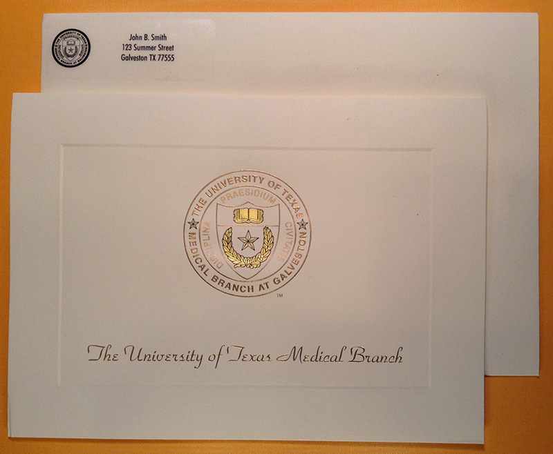 University of Texas Medical Branch - Galveston : Graduation Supplies ...