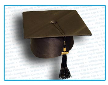 Folding Crown Mortarboard